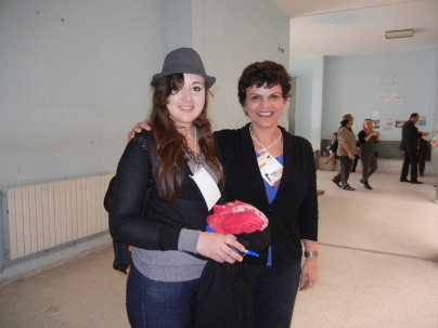 Sandas Suwwah, 24, medical student at Soussa University, Tunisia; 28 March 2013; photo by a nice person