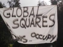 Occupy Global Squares, Tunis, World Social Forum; 28 March 2013; photo by Frances Hasso
